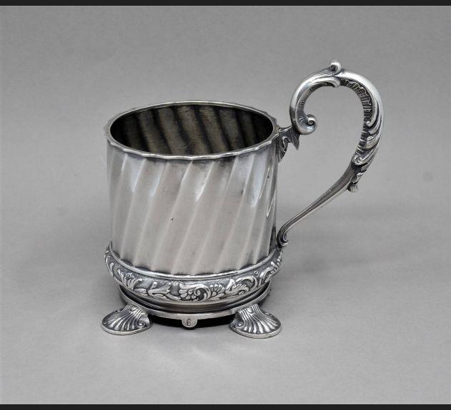 De Luxe !!! FABERGE, srebro 84 / Moskwa 1899-1908 r.