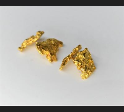 Naturalne samorodki złota 22 ct !! Spinki do mankietów