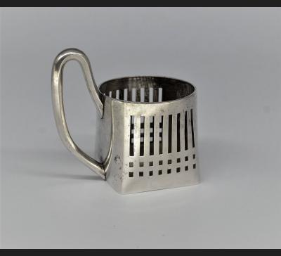 Podstakannik, srebro 84, Moskwa 1908-1917