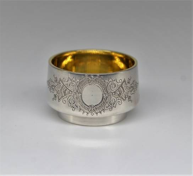 Kolekcjonerska solniczka, srebro 84, Moskwa 1894 rok