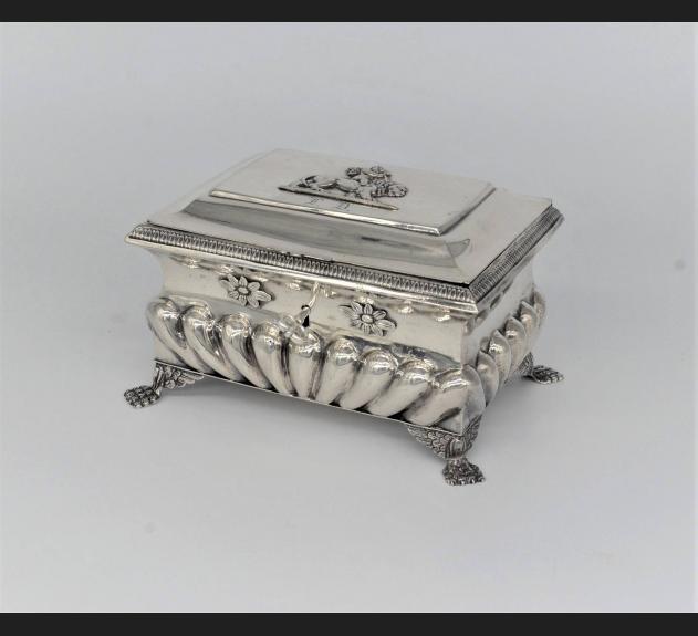 Dresselt August / Kielce, srebro 12 łut, lata 1830-40