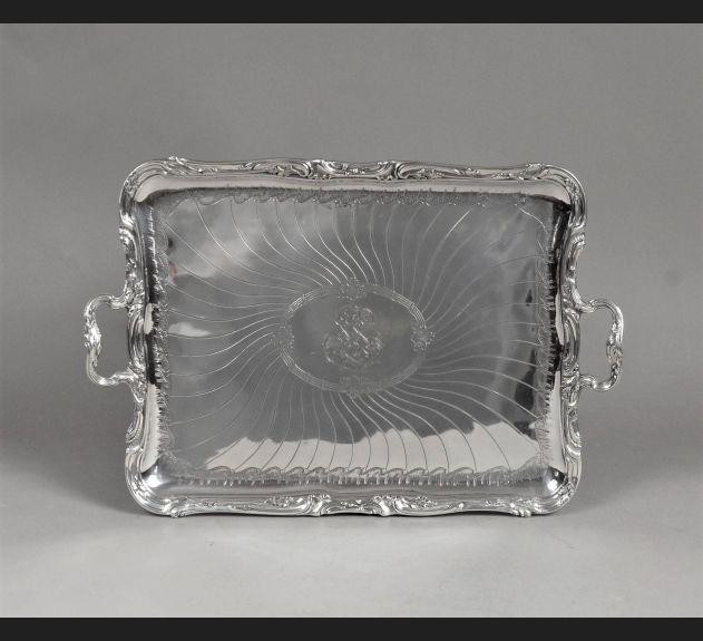 Taca, srebro 950, Edmond Tetard koniec XIX wieku